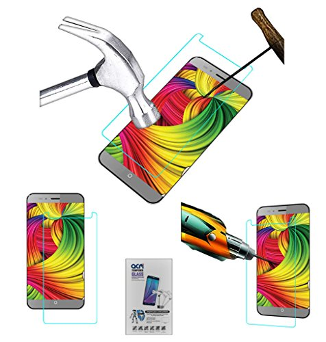 Acm Tempered Glass Screenguard Compatible with Intex Cloud Swift Screen Guard Scratch Protector