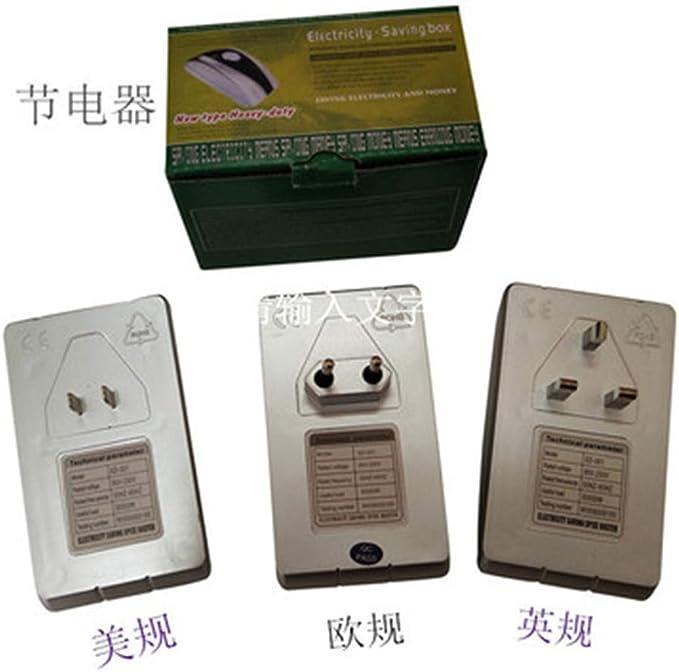 Mzthkly Caja de Ahorro de Electricidad, Ahorro de Energía, Ahorro de Energía de la Oficina Doméstica King Energy Saver 90-260v: Amazon.es: Electrónica