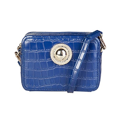 Crossbody Designer Body Blue Women Cross Women Versace Bag Bag Jeans Genuine HzTBcqR8T