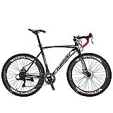 Eurobike Road Bike XC550 Bike 21Speed Gears Road Bicycle Dual Disc Brake Bicycle Spoke wheel