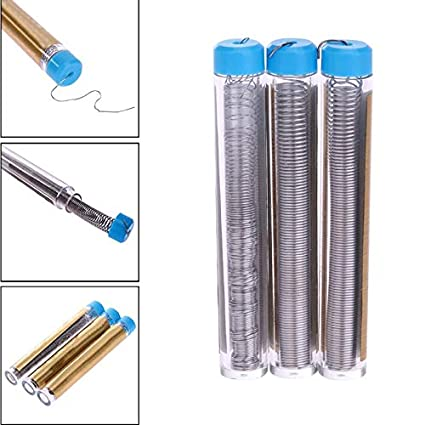Amazon.com : Jammas 3pcs/lot 0.3MM 0.4MM 0.5MM Tin Wire Pen Silver ...