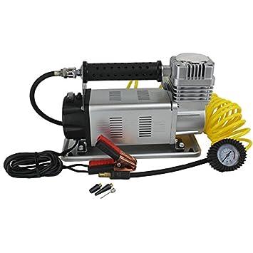 BVC 60611 - Compresor de Aire 150PSI (12 V, 160 l/Min, 45 AMP) con manómetro y Funda de Transporte.: Amazon.es: Coche y moto