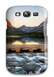 Faddish Phone Glacier National Park Case For Galaxy S3 / Perfect Case Cover