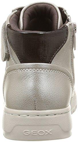Geox D Nimat A - Zapatillas de deporte Mujer Blanco (C9H6M)
