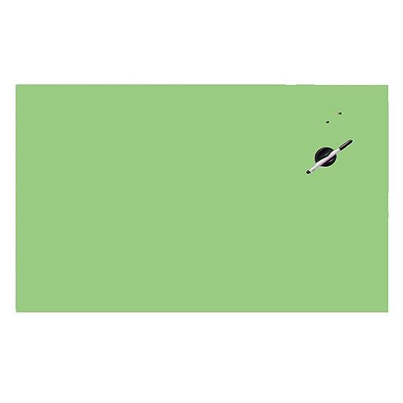 Viscom® Memoboard Glas - Glas-Magnettafel, Magnetwand, Magnetisch, Weitere Farben + Größen, 45 x 45 cm Grün