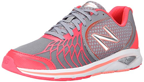 New Balance Women's WW1765V2 Walking Shoe-W, Grey/Pink, 5.5 B US