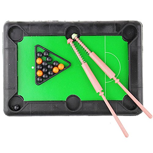 Livoty Home Children Pool Table Toys Sports Parenting Funny Mini Table Game Toys for Over 5 Years Old (Multicolor)