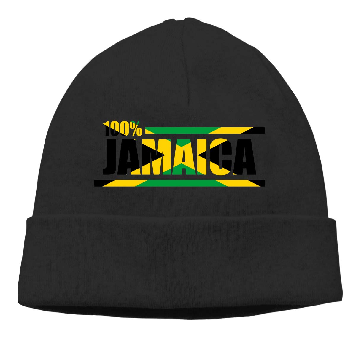 Beanie Hat 100/% Pride Jamaica Warm Skull Caps for Men and Women