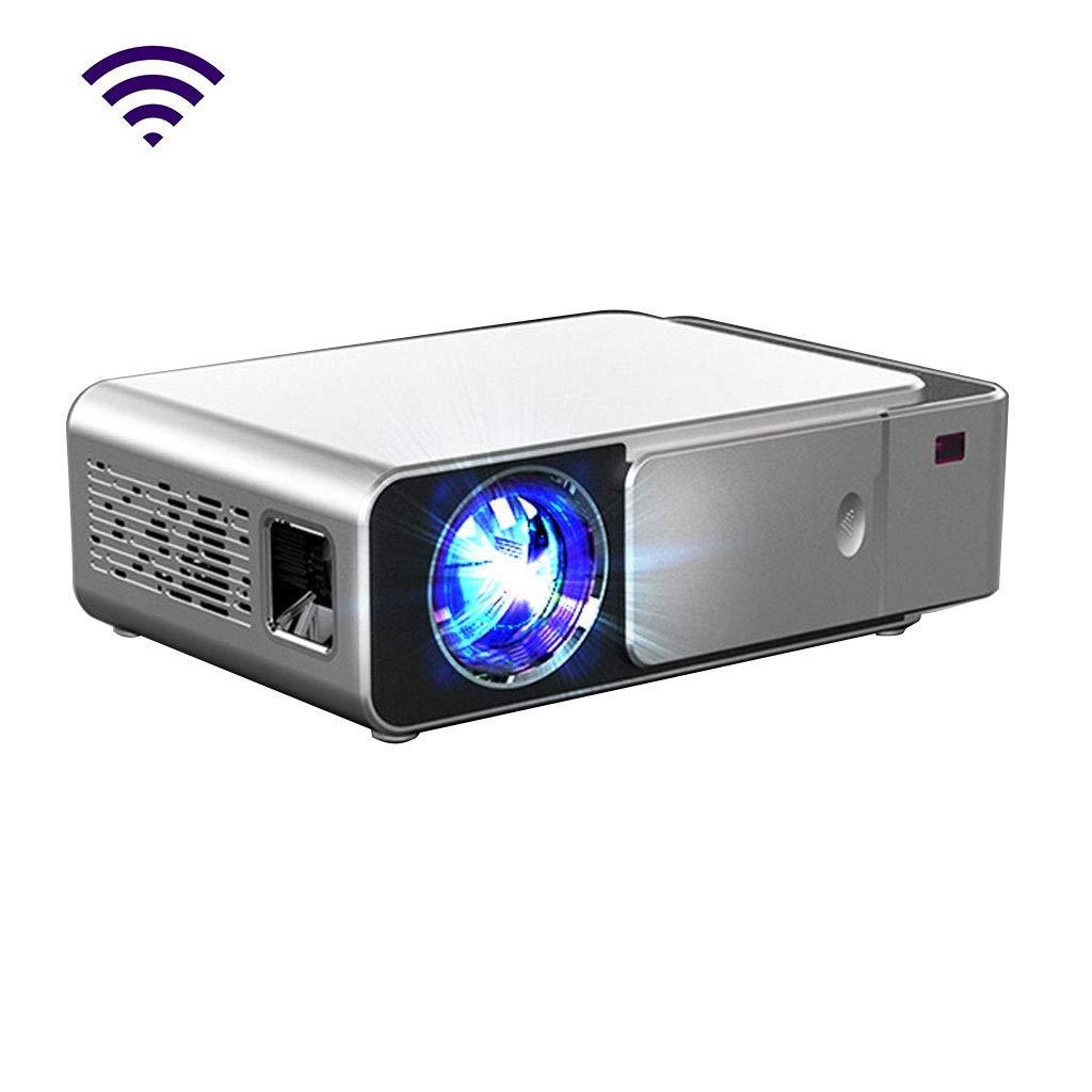 HongLianRiven Proyector de vídeo HD 800x480dpi Cine en casa móvil ...