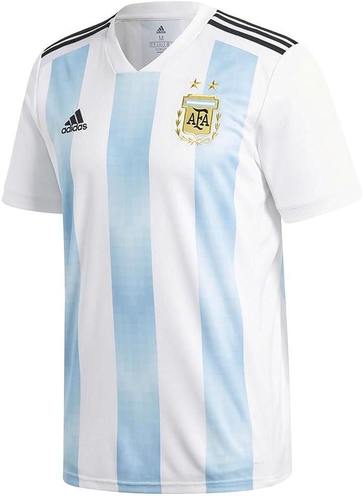 adidas Argentina Camiseta de Equipación, Hombre, Blanco (azucla/Negro), S: Amazon.es: Ropa y accesorios