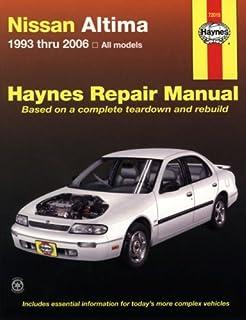 nissan altima 1993 2001 hayne s automotive repair manual chilton rh amazon com 1995 Nissan Sentra 1993 Nissan Altima GXE