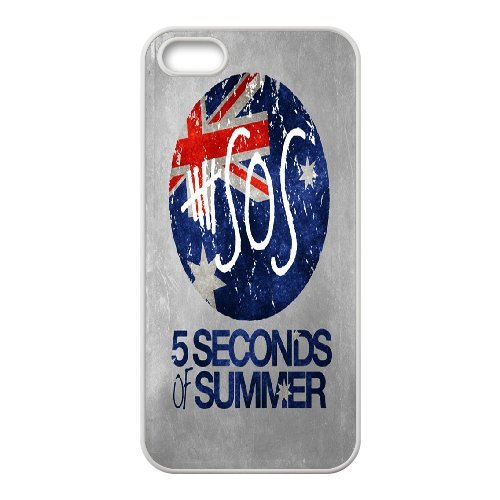 High quality 5 Second of Summer music band - 5SOS Band for fans durable cases For Iphone 4 4S case cover NLL872121379