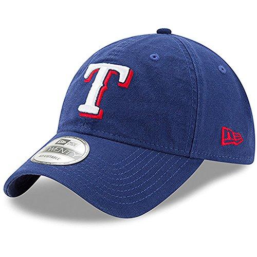 Texas Rangers New Era Core Classic 9TWENTY Adjustable Hat Royal