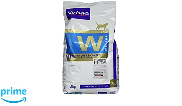 Virbac Veterinary HPM Cat Weight L & C Comida para Gato Bolsa de 3 kg: Amazon.es: Productos para mascotas