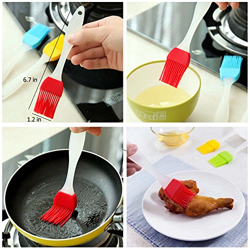 Vencer Egg Poacher Cups - Premium Silicone Pods,BPA FREE and Approved for Microwave with & Set Colorful Pods,VEO-001