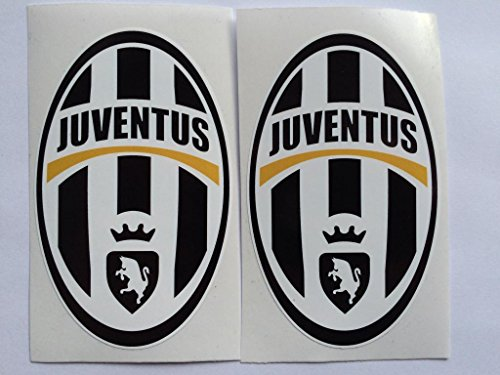 2 Juventus Italian Soccer Die Cut Decals by SBD DECALS