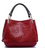 Fashion Classic Women'S Single Shoulder Handbag Bag,Gules,36X29X11Cm