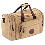 Flash Sale Deluxe Canvas Flight Bag Travel Duffel Durable Tote Bags for Pilots & Weekend Trips