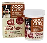 Fidobiotics Good Guts for Medium Mutts, Coconut Peanut Butter Flavored Daily Probiotic Supplement