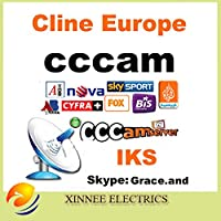 MU clina CCcam IKS cuenta CCcam validez 1 año, el trabajo en Alemania Reino Unido España Francia etc prueba gratuita receptor Sever apoyo CCcam: Amazon.es: Electrónica