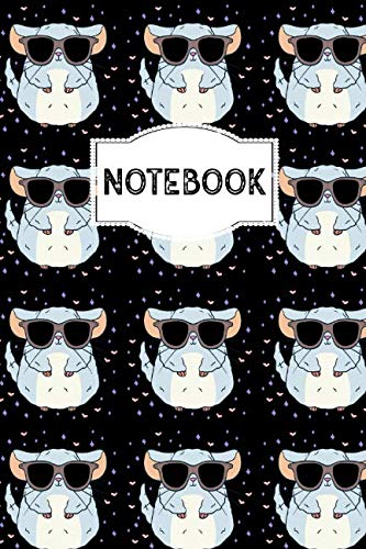 Notebook: 110 Lined Pages | 6 x 9 Inches | Black Notebook, Journal or Dairy | Birthday or Christmas Gift Idea for Women, Men and Kids by PaperPat