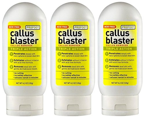 (3) pk, Profoot Callus Blaster, Gel Callus Remover, 4.2 Fluid Ounce. Bulk, No Box by Profoot