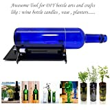 Glass Bottle Cutter Machine - Jaybva Glass Bottle Cutting Tool Kit with Replacement Blade Beer Wine Bottle Cutter Tool with Video Tutorial 2017 New Upgraded