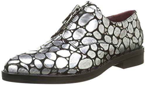 Donna Piu Zapatos Plata I 40 V9yJLN