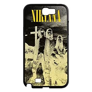 Customized Hard Back Case Cover for Samsung Galaxy Note 2 N7100 with Unique Design Nirvana