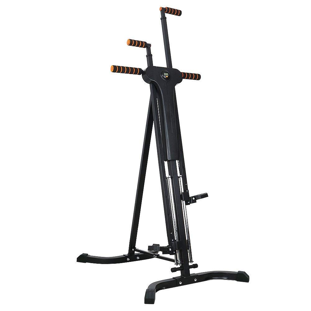Rxlife Vertical Climber Cardio Exercise Folding Climbing Machine for Home Gym Step Climber Exercise Fitness