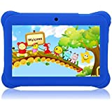 """Tagital® 7"""" T7K Quad Core Android Kids Tablet, with Wifi and Camera and Games, HD Kids Edition with Kid Mode Pre-Installed (Blue)"""
