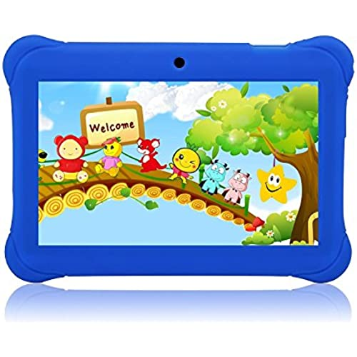 Tagital 7 T7K Quad Core Android Kids Tablet, with Wifi and Camera and Games, HD Kids Edition with Kid Mode Pre-Installed Coupons