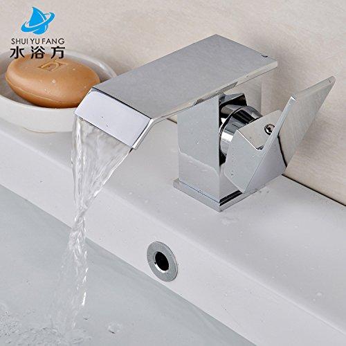 Pengei Tap Basin Mixer Kitchen Sink Mixer Faucet All Copper Single Hole