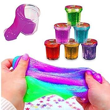 German Trendseller® - 12 x minicubos slime magico┃ putty de colores┃fiestas infantiles┃ idea de regalo┃piñata┃cumpleaños de niños┃bolsas sorpresa┃ ...