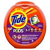 Tide PODS Laundry Detergent Liquid Pacs, Spring Meadow Scent, HE Turbo, 72 Count (Packaging May Vary)