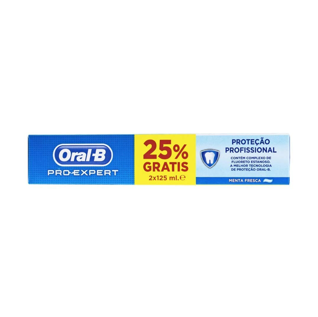 Amazon.com: Oral-B Pro-Expert Multi-Protection Toothpaste 2 x 125ml: Health & Personal Care