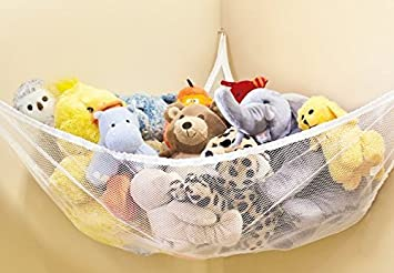 Large Hammock For Soft Toy Teddy Keep Baby/Childrenu0027s Bedroom Tidy Mesh  Storage Ideal For