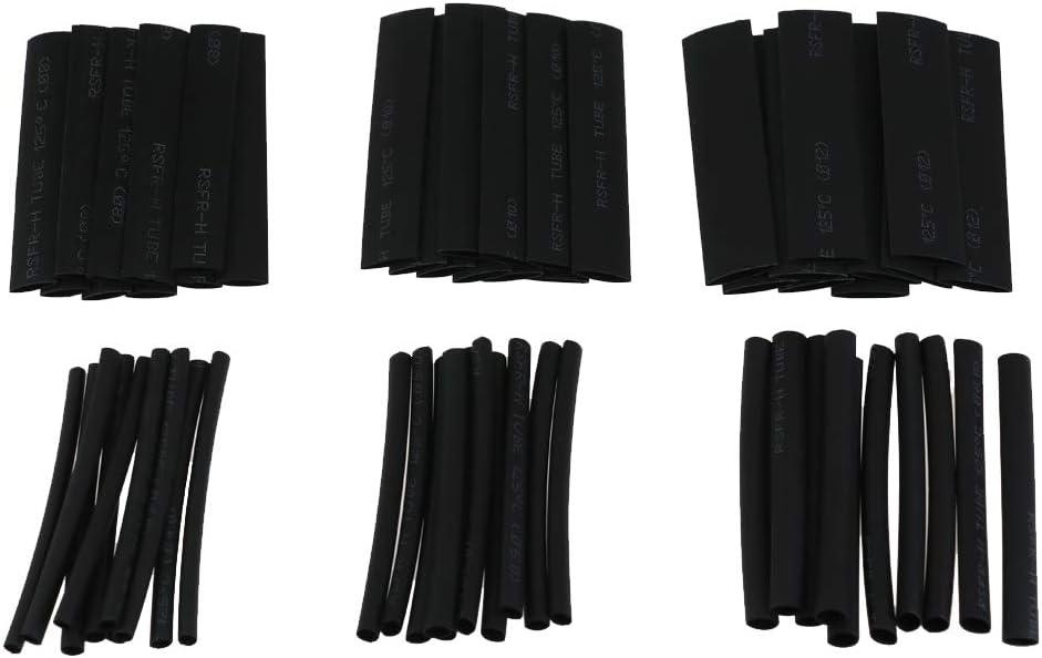 30A 50A 60pcs tube thermor/étractable noir OT 5A 100A Connecteur /à sertir pour c/âble /à cosse /à anneau ouvert 40A 10A 20A 275 pi/èces Jeu de bornes /à cosse en cuivre 60A
