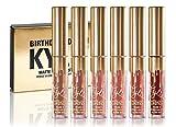 Matte lipstick similar to Kylie Jenner Birthday Kit (mini set) 100% ORIGINAL (6 X 0.02 fl oz./oz. liq / 0.65 ml) Koko K, Dolce K, Candy K, Kristen, Leo