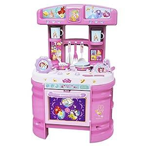 Disney Princess Mega Kitchen Double Sided 17pc Playset Kids Cook ...