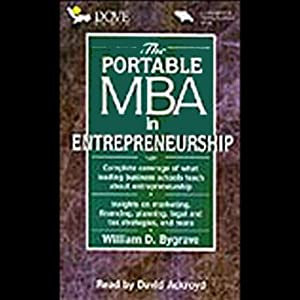 The Portable M.B.A. in Entrepreneurship Audiobook