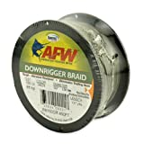 American Fishing Wire Downrigger Braid, Spectra Fibers, Green, 150 Pound Test, 450-Feet by American Fishing Wire