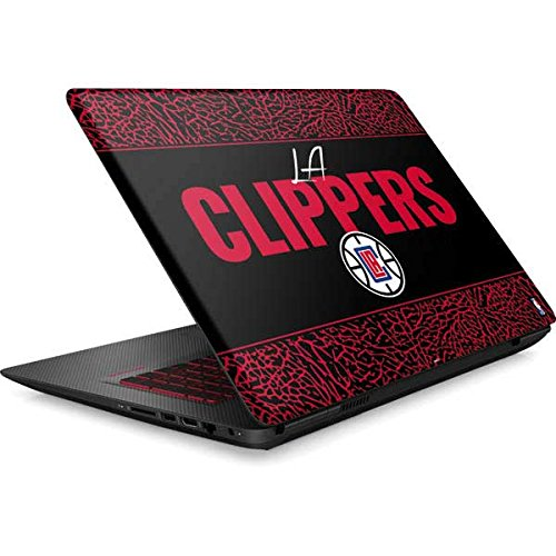 Skinit NBA Los Angeles Clippers Omen 15in Skin - Los Angeles Clippers Elephant Print Design - Ultra Thin, Lightweight Vinyl Decal Protection by Skinit