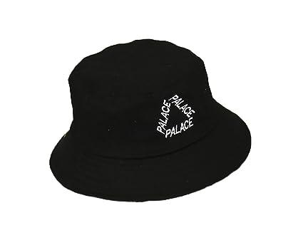 AJON Mujeres Algodón Sombrero del Sol del Cubo Sombreros Protectores Visera Bordado De Letras Sombreros De