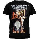 Danzig - Blackest Of Black 2010 Tour T-Shirt - Large