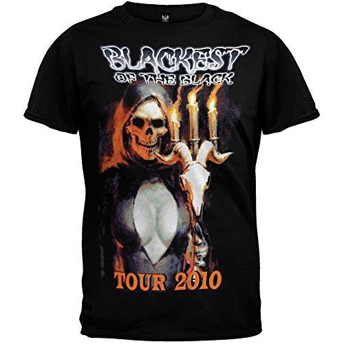 Danzig - Blackest Of Black 2010 Tour T-Shirt - Large by Danzig