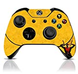 (Yellow Ninja) Custom Xbox One Controller with Exclusive Design Vinyl Skin Decal Uniquely Hand Painted and Air-Brushed For Sale