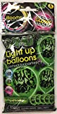 illooms LED Light Up Balloons 15 Pack (Green Camouflage)
