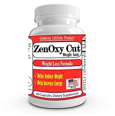 ZenOxy Cut Extreme Weight Loss Pills, Extreme Fat Burner,Flat Belly,Slim,Six Pack Most Effective formula