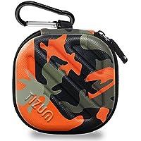 Tizum Tm-Epc-112-Org Earphone Carrying Case (Camouflage Orange)
